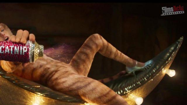 Les escarpins de Bombalurina (Taylor Swift) dans Cats