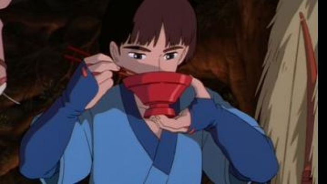 The Red Bowl Used By Ashitaka In Princess Mononoke Spotern