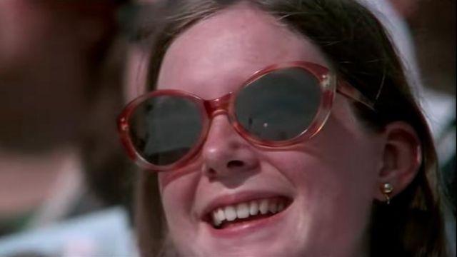 diversifié dans l'emballage meilleur choix design élégant Brun lunettes de soleil portées par Janet Shearon Apollo 11 ...