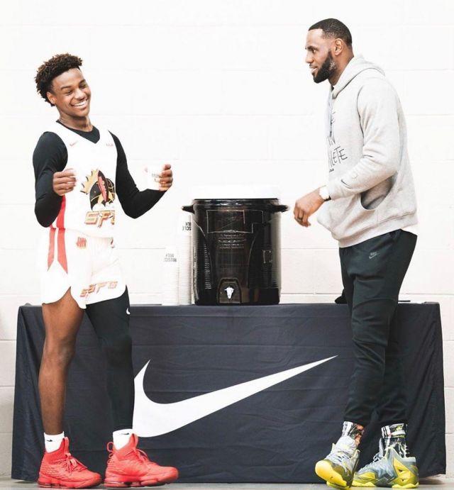 Sneakers Nike LeBron 11 worn by LeBron