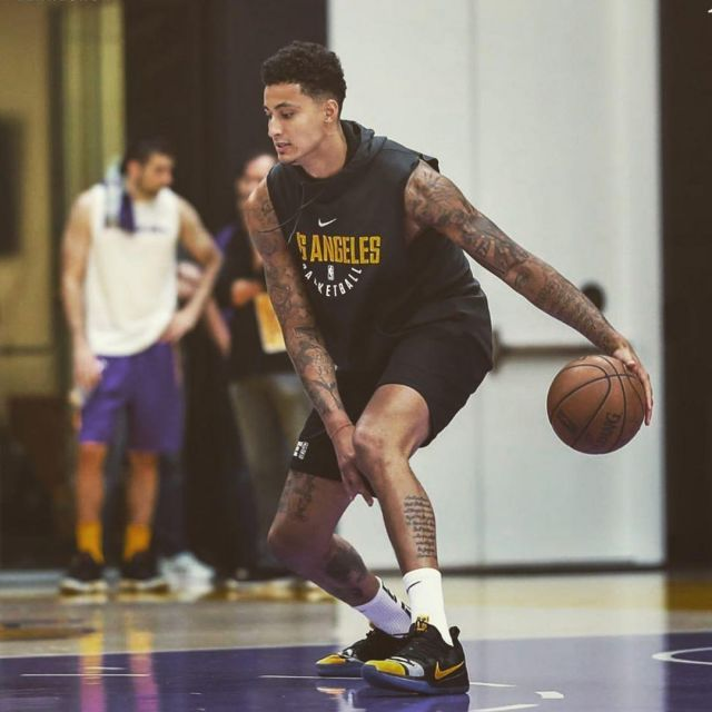 new concept 8a289 338a7 The Sneakers Nike Kobe AD Kyle Kuzma on the account ...