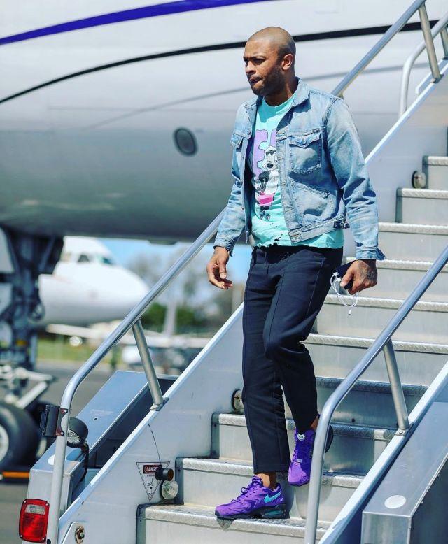 Sneakers Nike Air Max2 Light Grape P. J