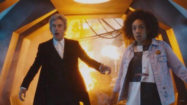 Le t-shirt portée par Bill Potts (Pearl Mackie) dans Doctor Who (Saison 10)