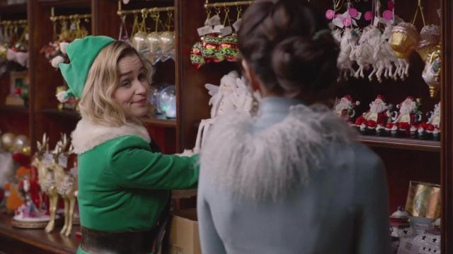 The crown green, Kate (Emilia Clarke) in Last Christmas