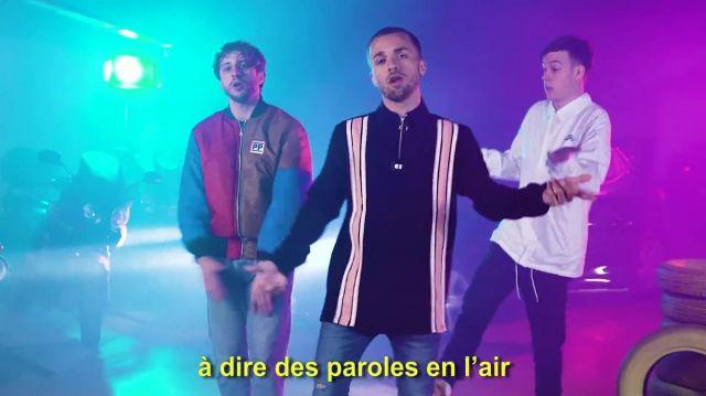 """Le pantalon de Seb La frite dans la vidéo YouTube de Squeezie """"Freestyle de potes"""""""