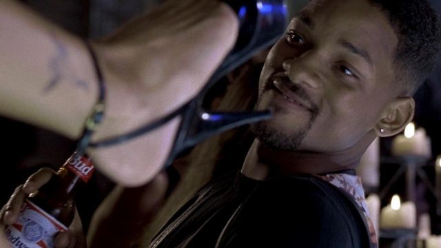 Budweiser Beer of Mike Lowrey (Will Smith) in Bad Boys