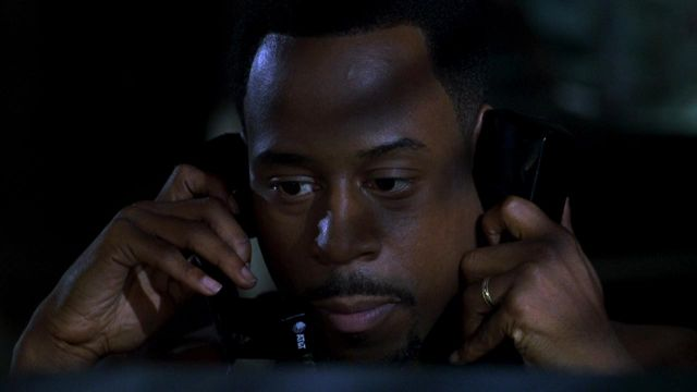 AT&T Telecommunications Company used by Marcus Burnett (Martin Lawrence) in Bad Boys