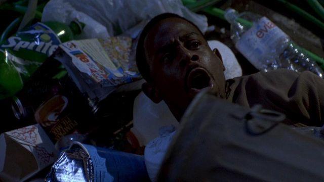Sprite soda drink of Marcus Burnett (Martin Lawrence) in Bad Boys