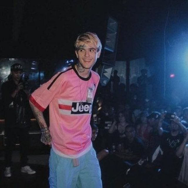 The Pink Shirt Jeep Juventus Turin Worn By Lil Peep On The Account Instagram Trimosievski Spotern