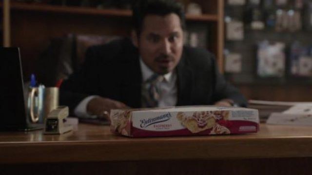 Entenmann's Raspberry Danish Twist of Luis (Michael Peña) in Ant-Man and the Wasp