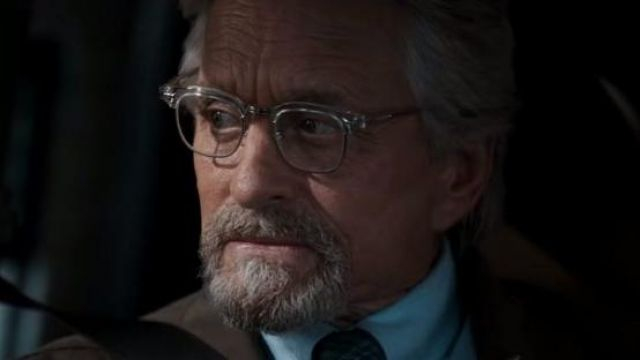 Old focals advocate eyeglasses worn by Dr. Hank Pym (Michael Douglas) in Ant-Man and the Wasp