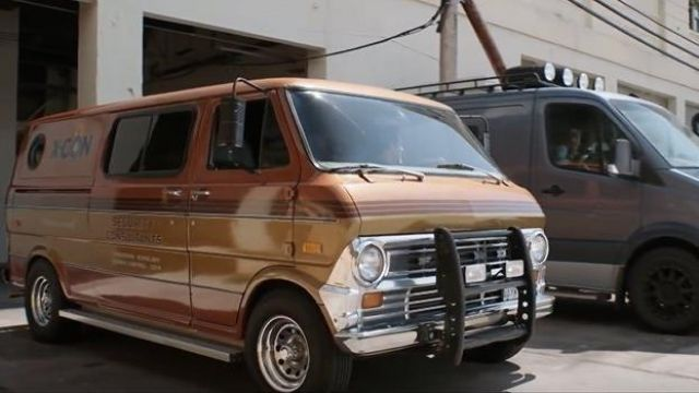 1969 Ford Econoline driven by Luis (Michael Peña) in Ant-Man and the Wasp