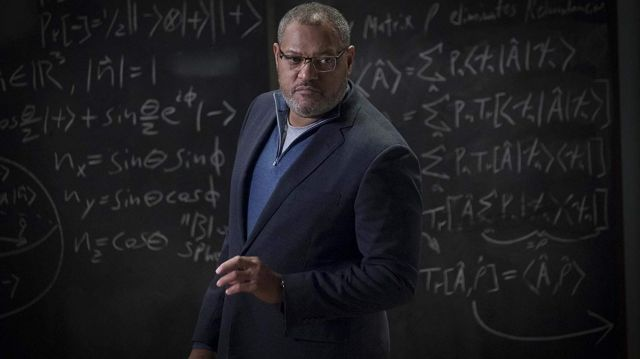 Black blazer worn by Dr. Bill Foster (Laurence Fishburne) in Ant-Man and the Wasp