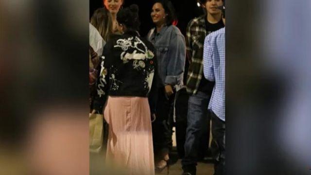 Stiletto High Heel worn by Demi Lovato on TMZ Live July 24, 2019