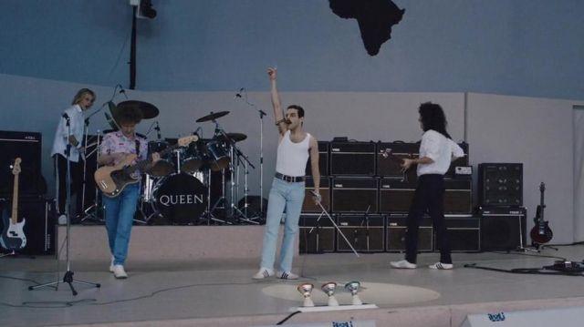Vox amplifier of Freddie Mercury (Rami Malek) in Bohemian Rhapsody
