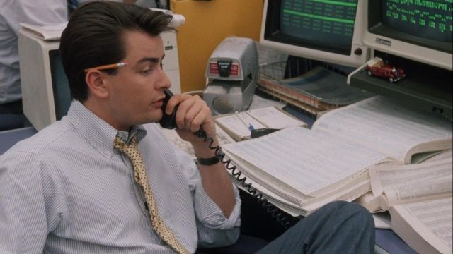 Yellow wood pencil used by Bud Fox (Charlie Sheen) in Wall Street