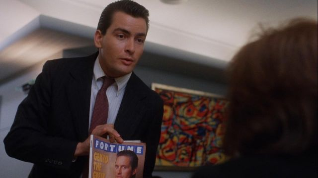 Fortune Magazine used by Bud Fox (Charlie Sheen) in Wall Street
