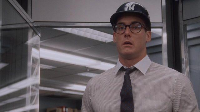 New York Yankees replica helmet used by Marvin (John C. McGinley) in Wall Street