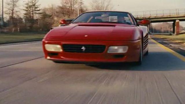 Ferrari Testa Rossa driven by Jordan Belfort (Leonardo DiCaprio) in The Wolf of Wall Street
