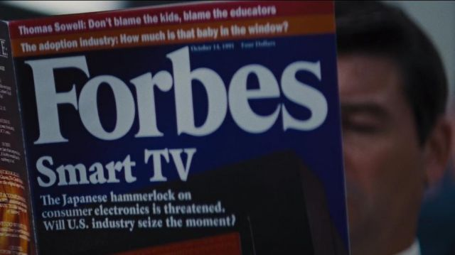 Forbes magazine used by Agent Patrick Denham (Kyle Chandler) in The Wolf of Wall Street