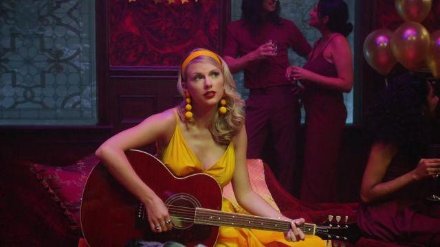 Earrings yellow Taylor Swift in Lover