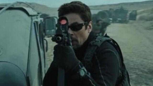 G-Shock watch of Alejandro (Benicio del Toro) in Sicario: Day of the Soldado