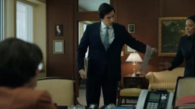 Silver Sage Tie worn by Adam Driver in THE REPORT Trailer (2019) Adam Driver, Amazon Prime Drama Series