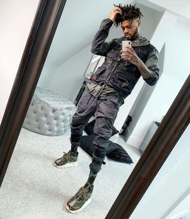 Sneakers worn by scarlxrd on his instagram.   Spotern