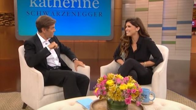 Black shirt worn by Katherine Schwarzenegger on The Dr  Oz
