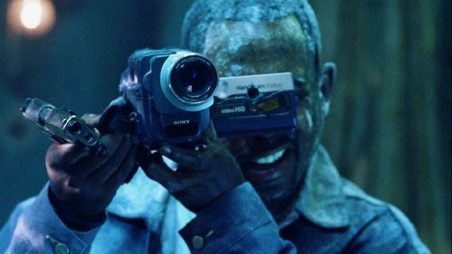 Sony Handycam Camcorder used by Detective Marcus Burnett (Martin Lawrence) in Bad Boys II