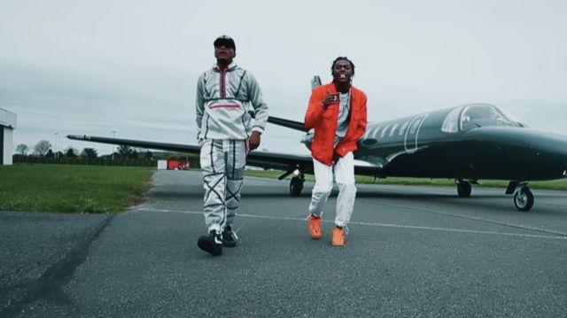 Les sneakers Nike Air Force 1 Low Realtree Camo de Koba LaD dans son clip RR 9.1 feat. Niska