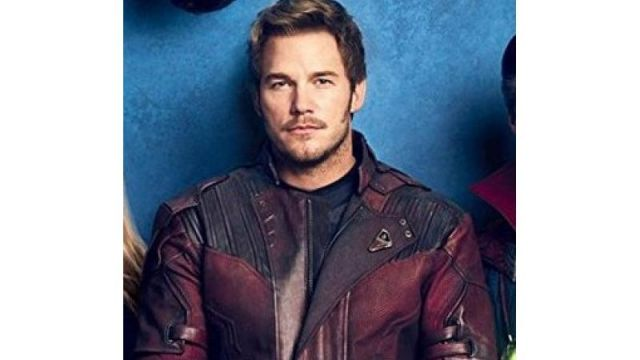 Avengers Infinity War Star Lord (Chris Pratt) Leather Jacket