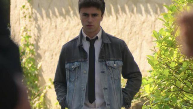 Denim Jacket worn by Samuel (Itzan Escamilla) in Elite (S02E02)