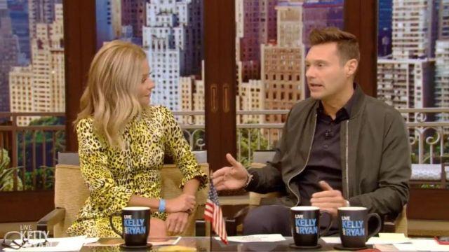 Baum und Pferdgarten Adyn robe portée par Kelly Ripa dans l'émission LIVE with Kelly and Ryan SEPTEMBER 10, 2019