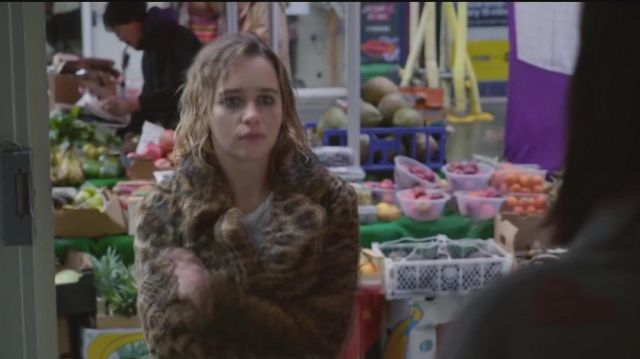 Last Christmas Movie 2019.The Coat Leopard Emilia Clarke In Last Christmas Official
