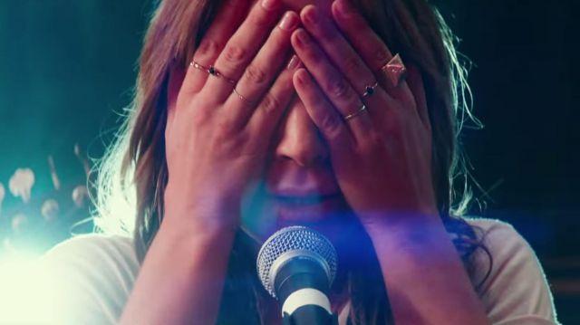 Les bagues de Ally (Lady Gaga) dans A Star is Born