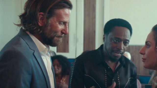 Wedding suits worn by Jack (Bradley Cooper) in A Star Is Born