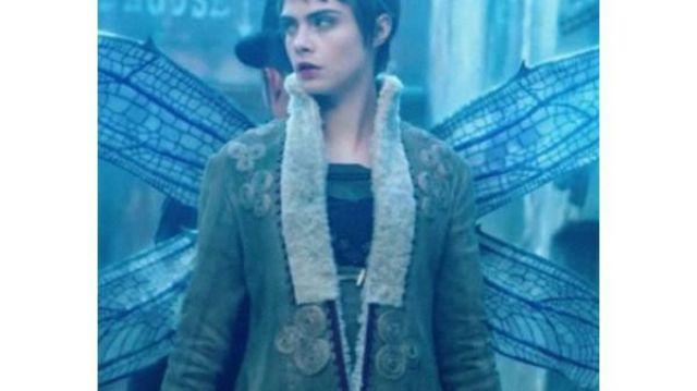 Coat of Vignette Stonemoss (Cara Delevingne) as seen in Carnival Row (S01E08)