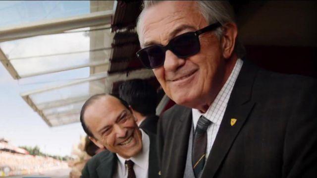 Ray Ban Sunglasses Worn By Enzo Ferrari Remo Girone In Ford V Ferrari Spotern