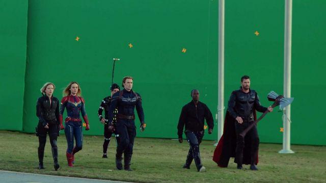 Faux leather jacket of Steve Rogers / Captain America (Chris Evans) in Avengers: Endgame