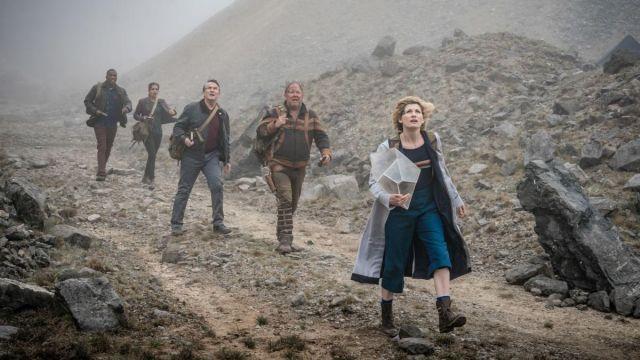 Pantalon bleu porté par 13 médecin (Jodie Whittaker) comme vu dans Doctor Who (S11E10)