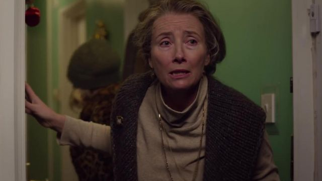 Turtleneck sweater worn by Adelia (Emma Thompson) in Last Christmas