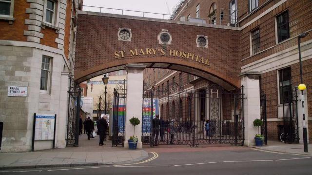 St. Mary's Hospital as seen in Last Christmas