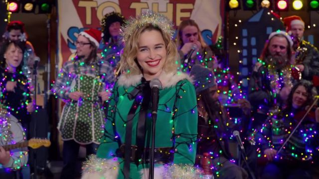 Shure Microphone used by Kate (Emilia Clarke) in Last Christmas