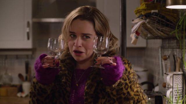 Wine Glasses used by Kate (Emilia Clarke) in Last Christmas