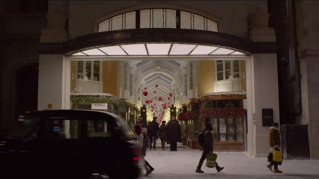 Omega Vintage Store Burlington Arcade as seen in Last Christmas