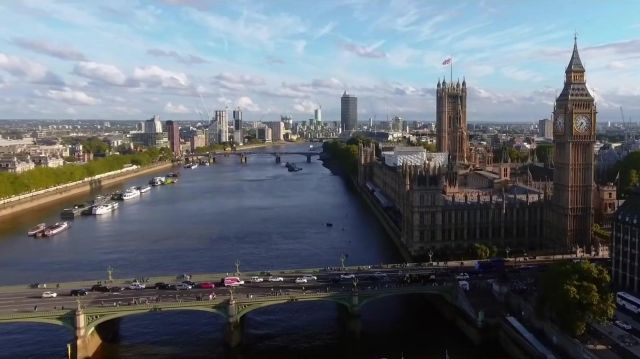 Big Ben London UK as seen in Last Christmas