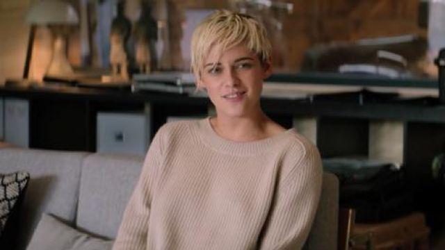 Crewneck Sweater worn by Sabina Wilson (Kristen Stewart) in Charlie's Angels
