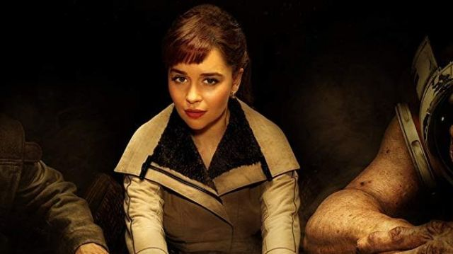 Leather Jacket of Qi'ra (Emilia Clarke) in Solo: A Star Wars Story