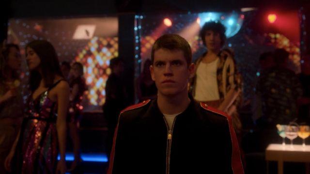 Jacket worn by Guzmán (Miguel Bernardeau) as seen in Elite Season 2 Episode 1